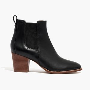 New MADEWELL Size 6.5 Black The Regan Boots